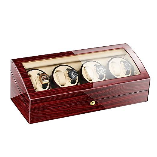 JIANBO Estuche bobinadora para Relojes • Caja para Relojes ...