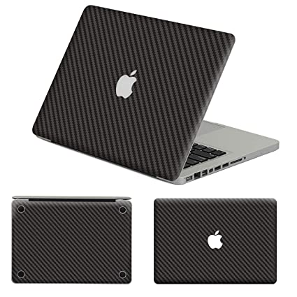 best cheap 67c38 7130a Herngee Carbon Fiber Protective Decal & Skin Protector, PVC Skin Cover  Sticker Compatible with MacBook Air 11.6