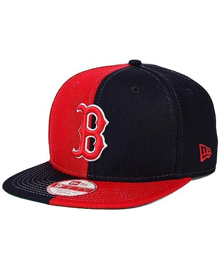 b6176a8672d ... best price boston red sox new era mlb double splitem 9fifty snapback  cap 6df8a 17a67