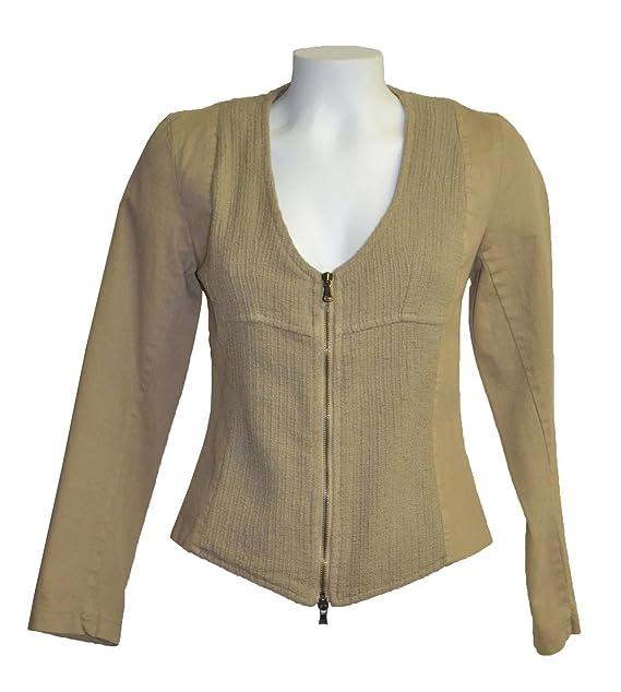 Kaos Giacca Color Easy Abbigliamento Twenty Amazon Cammello Sm00200 it gvq5ttwE