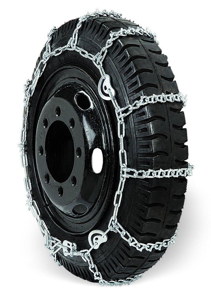 Grizzlar GSL-2845CAM Truck Ladder V-Bar CAM Twist Alloy Link Tire Chains 10.00-20 11-22.5 285/70-24.5 10.00/90-20 13/80-20 RLB Worldwide