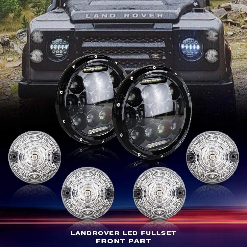 Kit complet de phares LED pour Defender 90-16