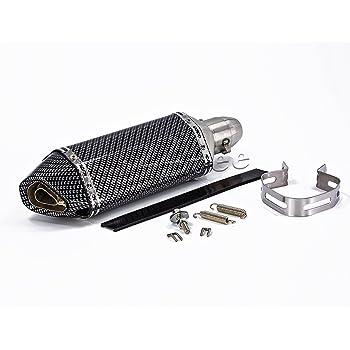 amazoncom yoshimura trc carbon fiber tri oval complete exhaust system honda ruckus zoomer