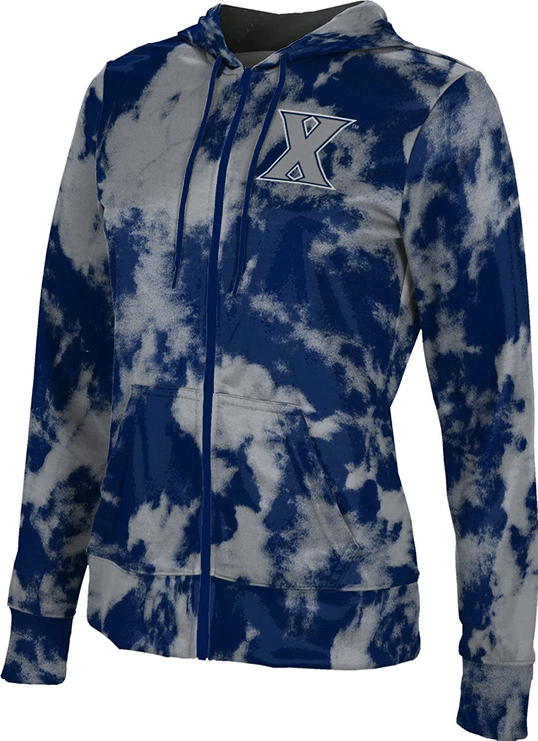 ProSphere Drake University Girls Zipper Hoodie School Spirit Sweatshirt Grunge