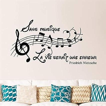 Amazon Com Art Diy Mural Room Mural French Quote Sans