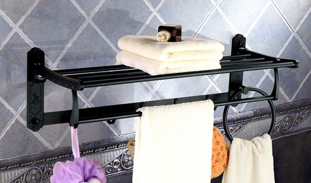 LHbox Tap Espacio Tallado de Aluminio uacute;nico Anillo Anillo Anillo toallero, Estilo 2 9b2a41