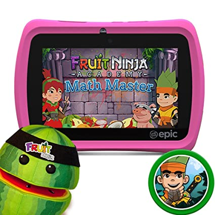 Amazon.com: LeapFrog Epic Fruit Ninja Bundle including: Epic ...