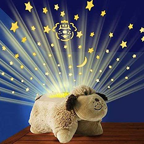 Amazon Com Pillow Pets Dream Lites Mini Snuggly Puppy Pet Supplies