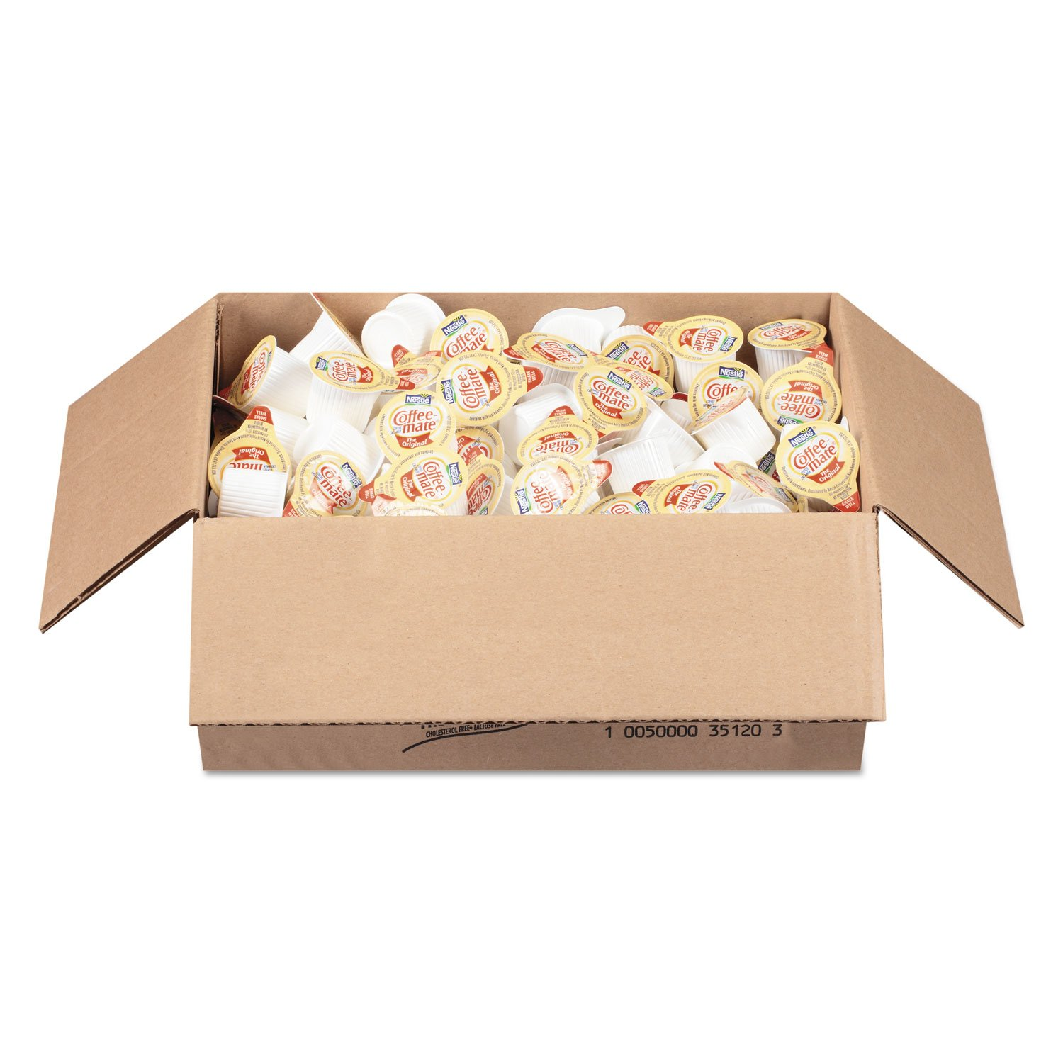 Coffee-mate 35010 Liquid Coffee Creamer, Original, 0.375 Oz Mini-Cups, 180/box, 2 Box/carton