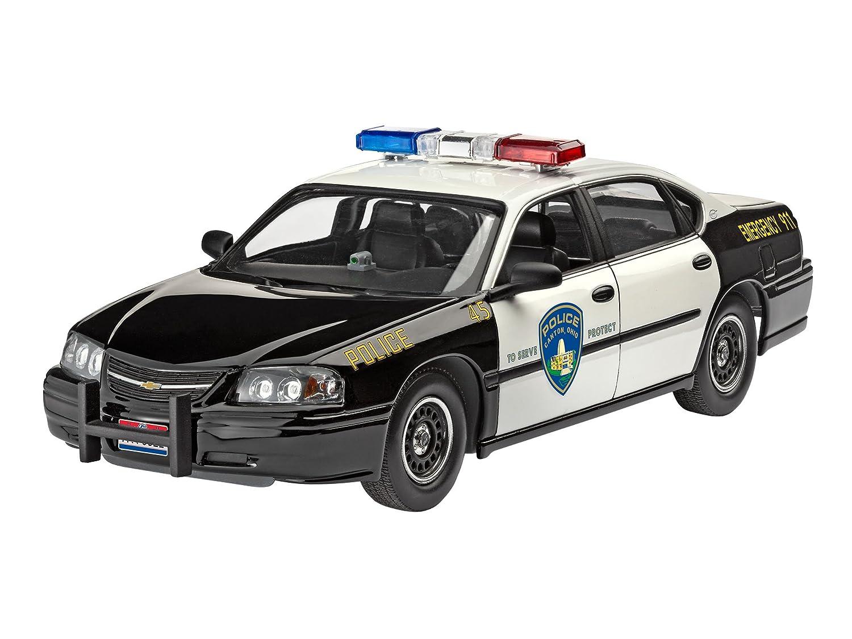 07068 1/25 '05 Chevy Impala Police Car Revell of Germany