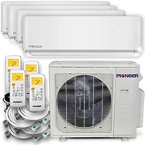 PIONEER Air Conditioner Pioneer Multi Split Heat Pump Quad (4 Zone)