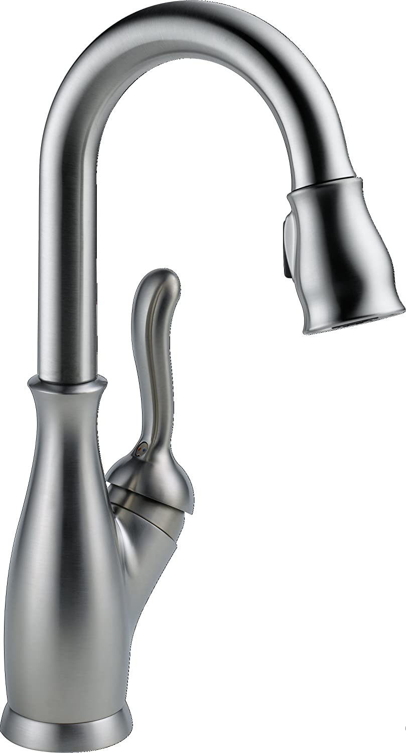 DELTA Leland Single-Handle Bar-Prep It is Ranking TOP10 very popular Kitchen with Sink Pul Faucet