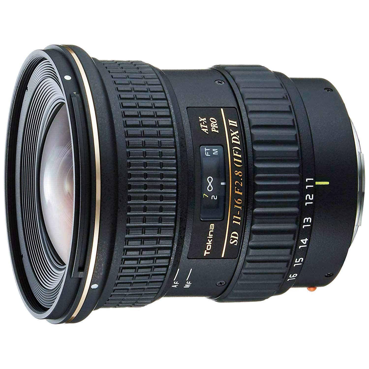 Tokina 11-16mm f/2.8 AT-X116 Pro DX II Digital Zoom Lens for