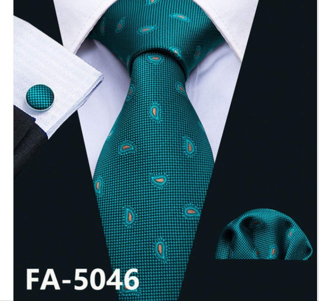 YiJiaMei La corbata K de las mancuernas de Fasion de los hombres ...