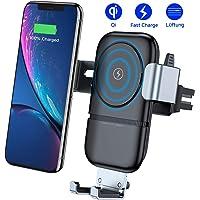 VANMASS Handyhalterung Auto Wireless Charger Auto Lüftung Kfz Handy Halterung 10W Qi Induktive Ladestation fürs Auto Automatisch für iPhone XS iPhone X iPhone 8 Galaxy S9 / S8 und andere Qi Geräte