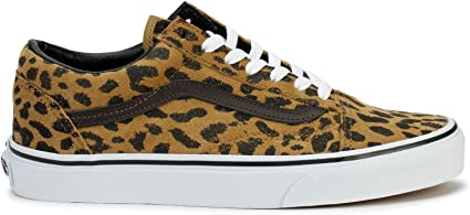 vans rouge leopard