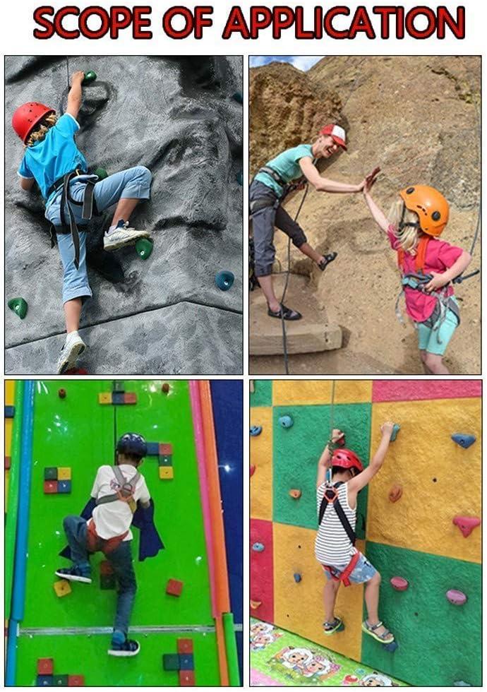 Arnés de escalada para niños, kit de arneses de seguridad ...