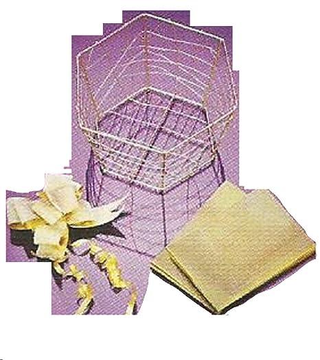 Avon make your own diy gold hexagonal wire gift basket x5 amazon avon make your own diy gold hexagonal wire gift basket x5 negle Images
