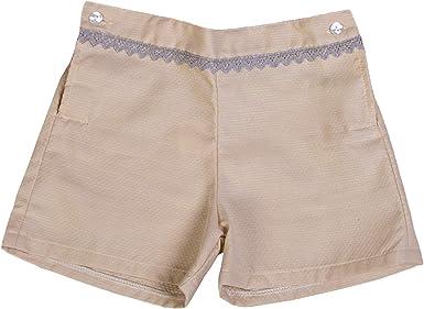 Godettia Pantalones Cortos de Piqué para Niños de 6 Meses a 5 Años   Shorts para Bebé Fabricados en España   para Ocasiones Especiales, Bodas, Bautizos o Comuniones: Amazon.es: Ropa y accesorios