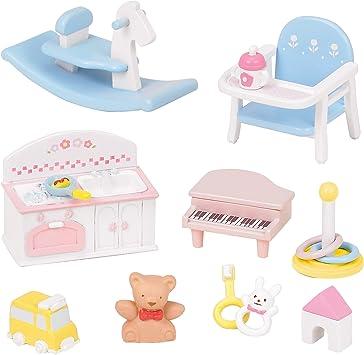 Amazon.es: Epoch Sylvanian Families Sylvanian Family Doll Baby Toys Set F -211 by: Juguetes y juegos