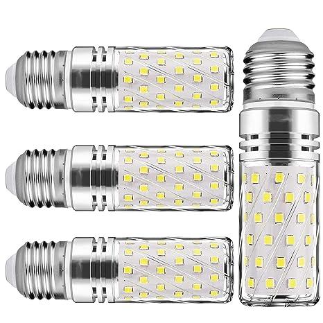 E27 LED maíz bombilla, 15W, 6000K LED bombillas, 120W incandescente bombillas equivalentes,