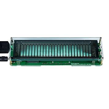 nobsound Music Spectrum Audio 15 Level Indicator VU Meter Screen Amplifier VFD Pantalla LED Amplificador de música pantalla: Amazon.es: Electrónica