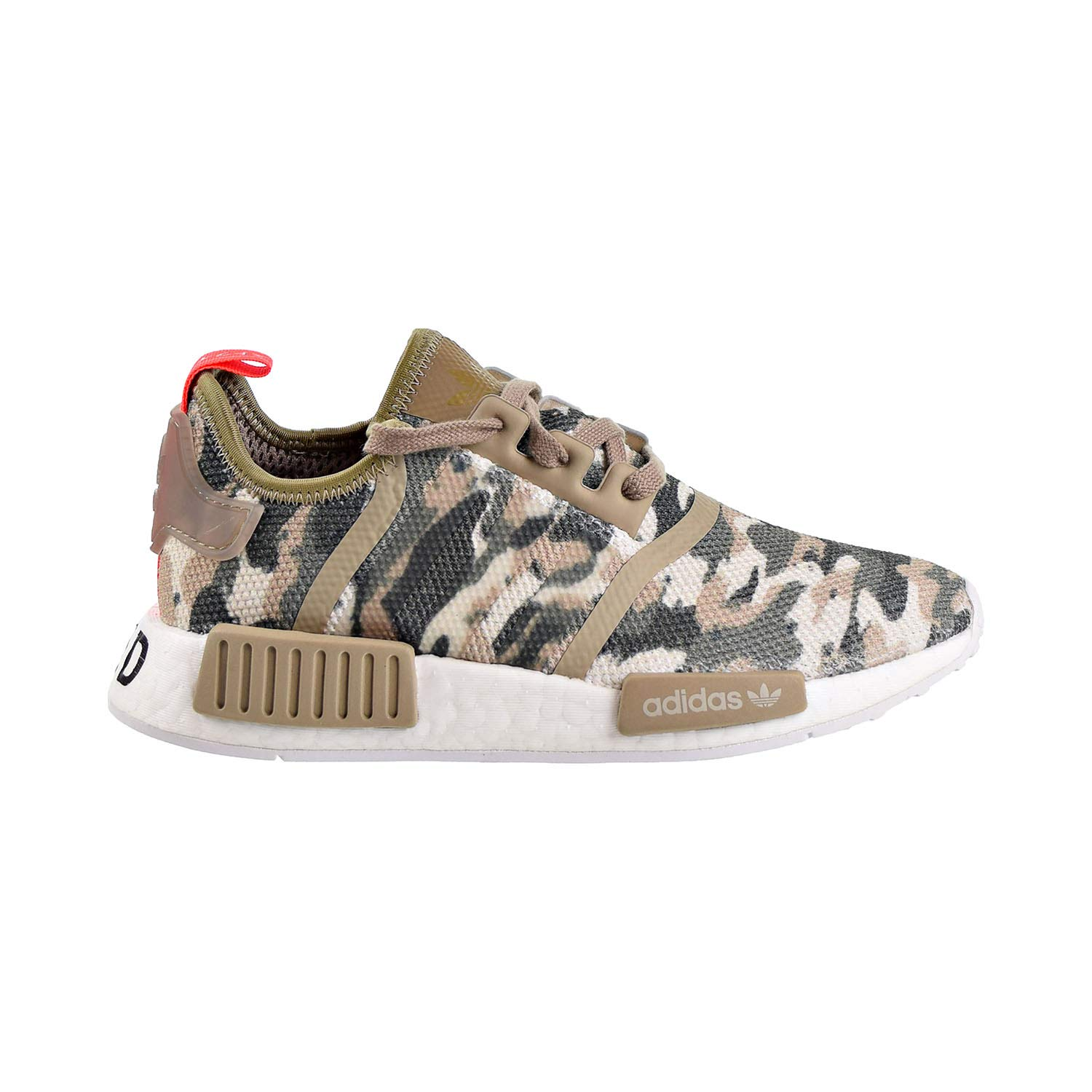 d7a9b448f5 Amazon.com | adidas NMD_R1 Big Kids Shoes Clear Brown/Solar Red ...