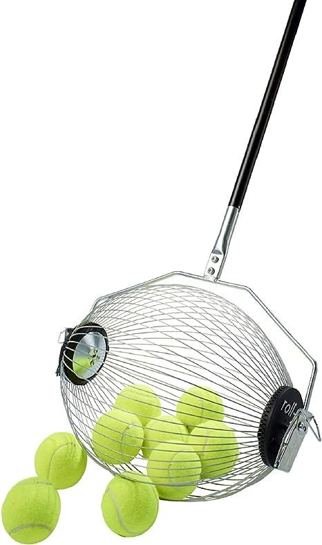 Recogepelotas de tenis | 40 Pelotas | Recogepelotas padel: Amazon ...