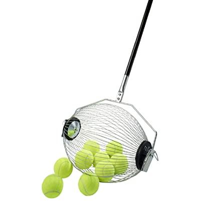 Kollectaball CS40 40 Ball Collector Mini | Ball Picker Upper for Tennis, Pickleball, Padel and More | Holds 40 Tennis Balls or Pickleball Balls