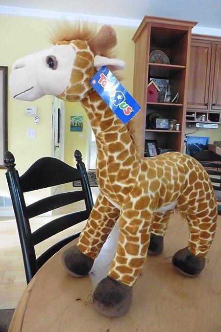 Amazon Com Large Stuffed Animal Giraffe Toys R Us Standing