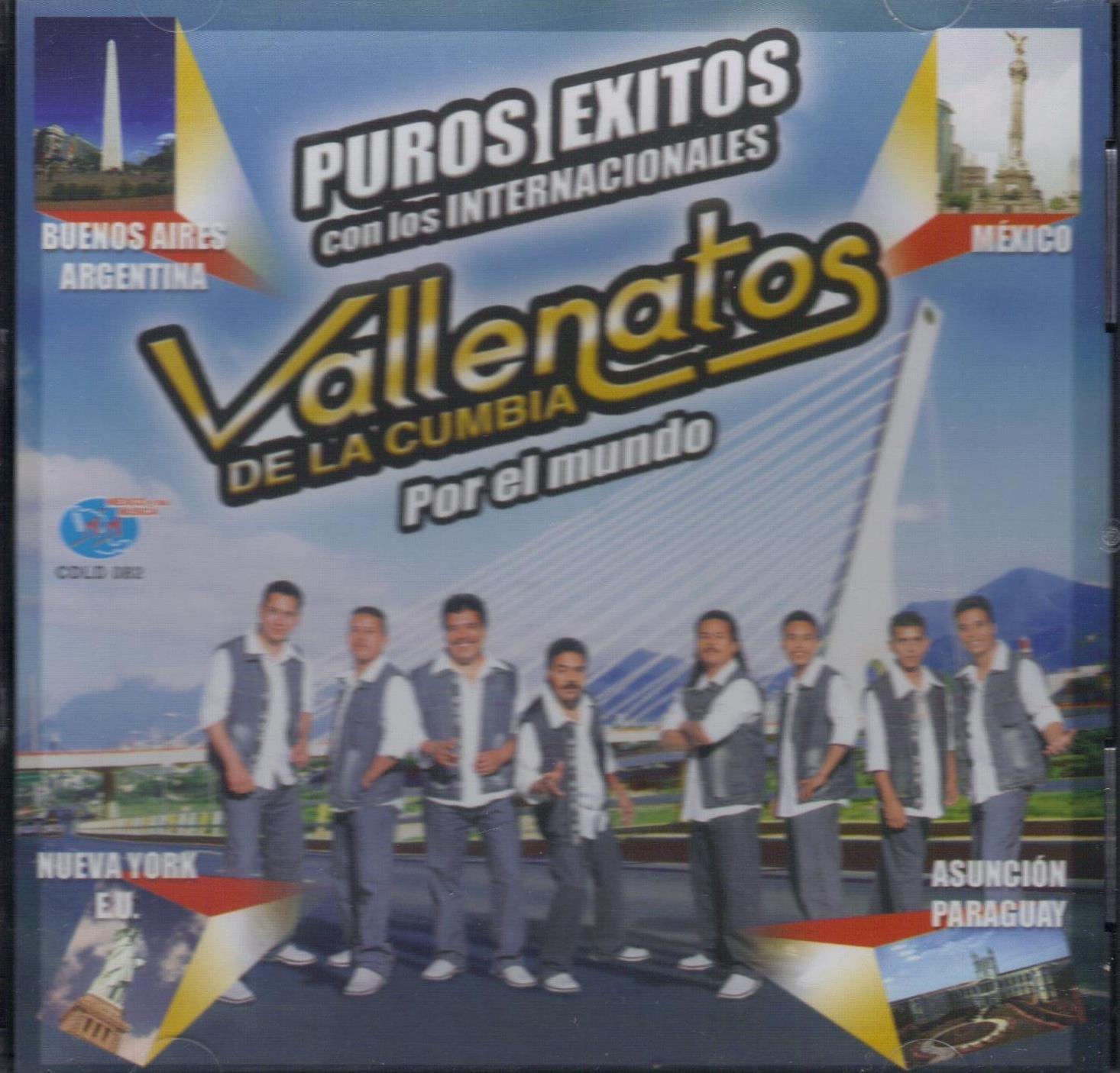 Los Vallenatos De La Cumbia,puros Exitos..