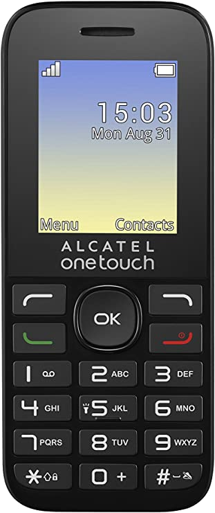 Alcatel One Touch 1016d Dual sim Negro - Smartphone: Amazon.es ...