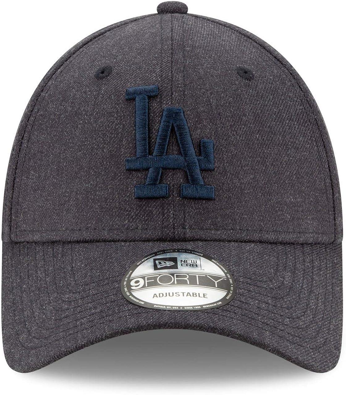 New Era Casquette 9FORTY MLB Winterized The League L.A Dodgers Bleu d/élav/é