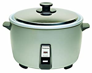"Panasonic SR-42HZP 23-cup (Uncooked) Commercial Rice Cooker, ""NSF"" Approved, Stainless Steel Lid"