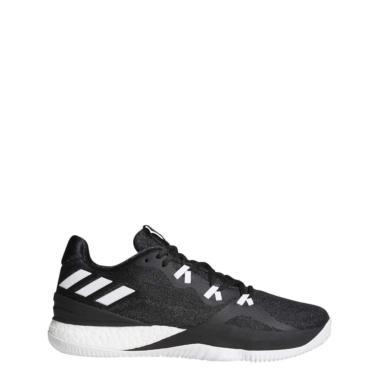 5154e1295b4 Amazon.com  adidas Men s Crazy Light Boost 2018 Basketball  CoreBlack White Carbon  Shoes