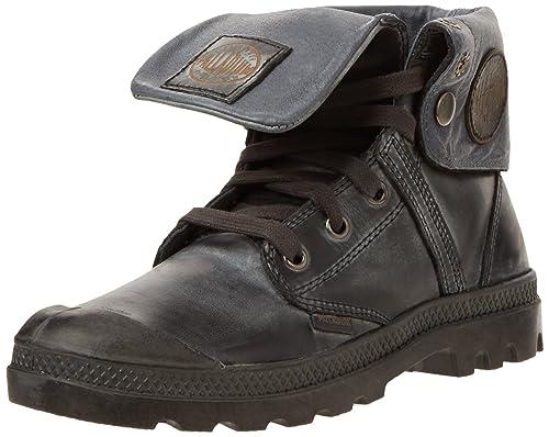 Palladium Damen Stiefel Grau Schuhe, Größe:39