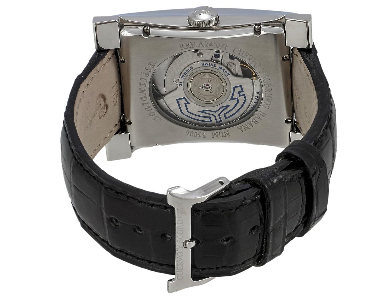 Cuervo Y Sobrinos 2451.1NAL - Reloj , correa de cuero: Amazon.es: Relojes