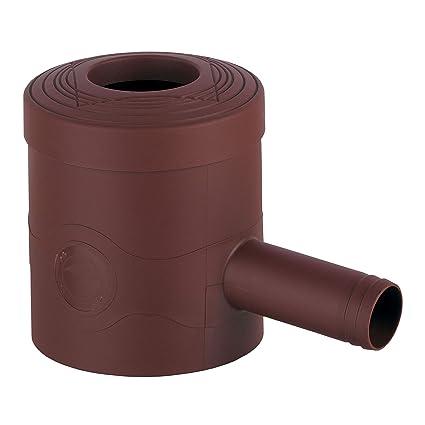 Regensammler Regenwassersammler Fallrohrfilter standard grau oder braun