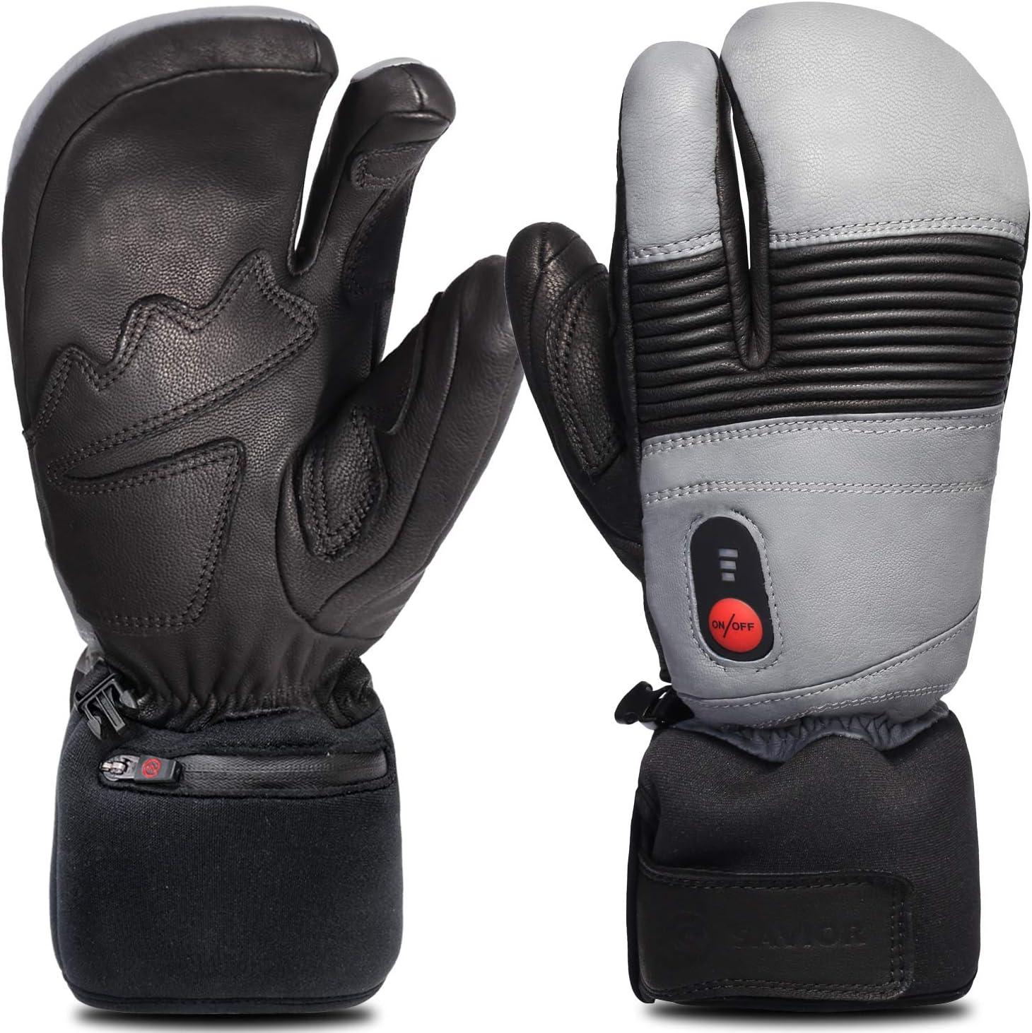 Skiing Heated Gloves,Arthritis Glove Savior Heated Gloves for Men Women