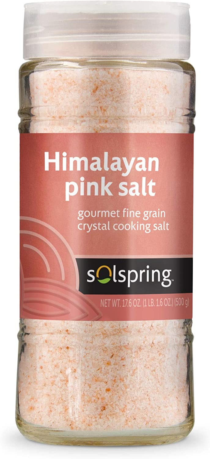 Dr. Mercola Himalayan Crystal Cooking Salt, about 333 Servings (17.5 oz), non GMO, Gluten Free, Soy Free