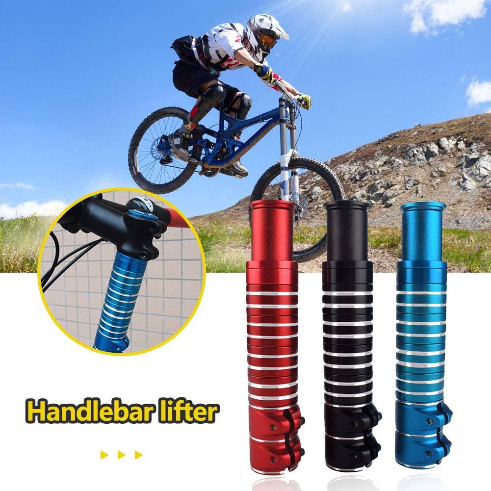 Veronivan Handlebar Stem Riser MTB Bicycle Bike Fork Stem Raiser Extender Adaptor Aluminum Alloy Flexible Extender Adapter