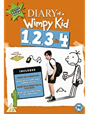 Diary Of A Wimpy Kid 1, 2, 3 & 4