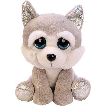 JJays Store Great Value Soft Plush Stuffed Cuddly Animal Toy - Li l Peepers  Medium Husky Dog - Ideal Present for Women 279f56372