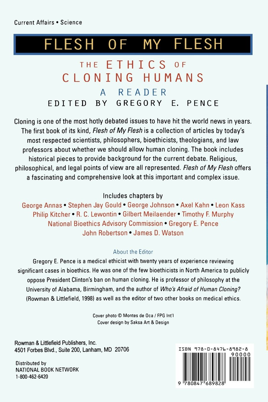 a report on the scientific ethical and religious issues of human cloning Human cloning is the creation of a human being whose the united states should promote ethical scientific and the nbac report ethical issues in human stem.