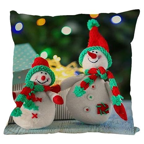 Xinantime Fundas Cojines, Navidad Decoración Festival ...