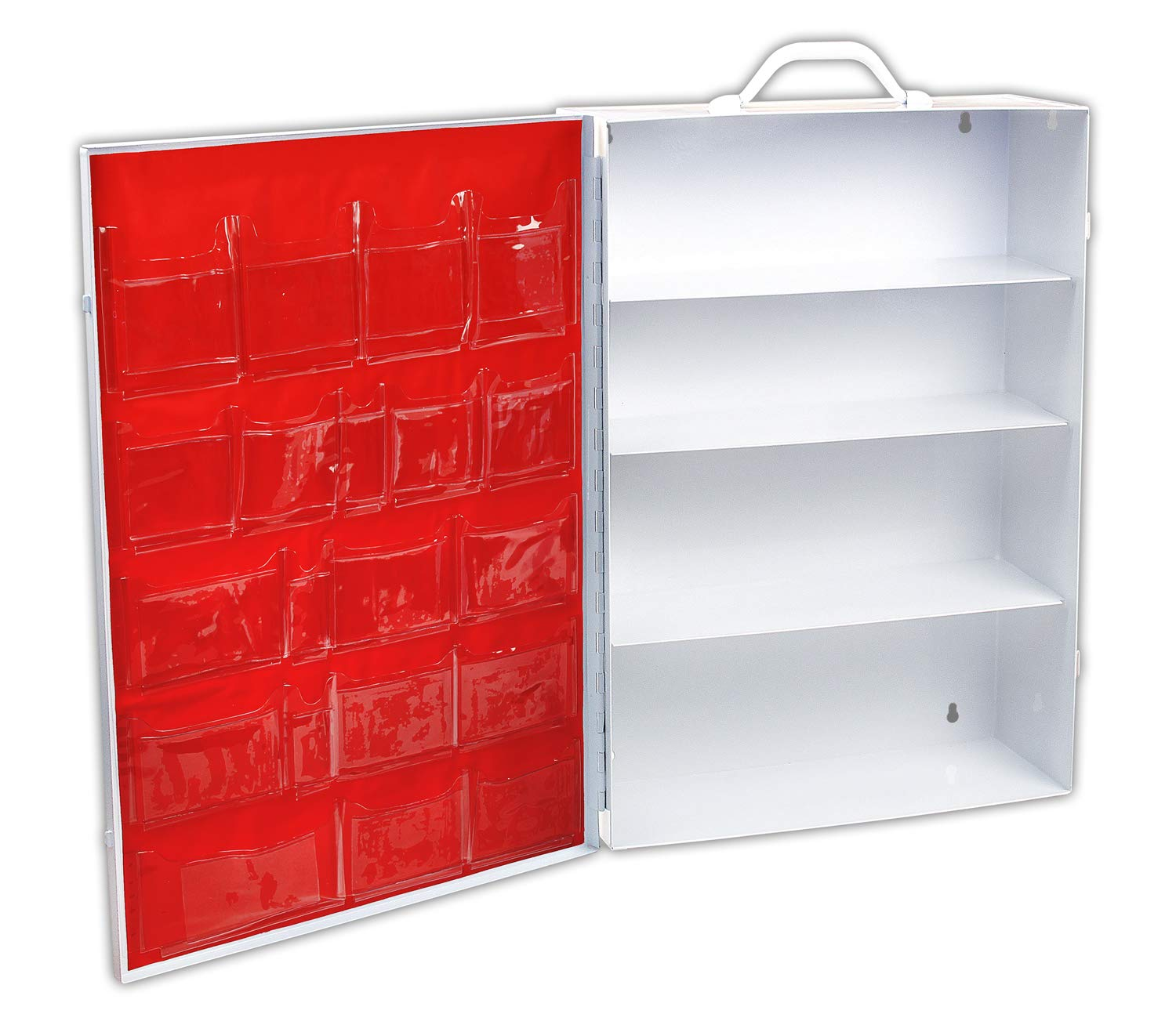 Rapid Care First Aid 62004 4 Shelf First Aid Cabinet without Product