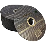 10 x Muy delgado 115 x 1mm stainless steel cortes dics - corte de metal de corte discos