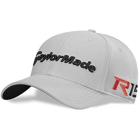 Amazon.com   2015 TaylorMade R15 39Thirty Stretch Fit Mens Golf Cap ... 42cd3ae803d1