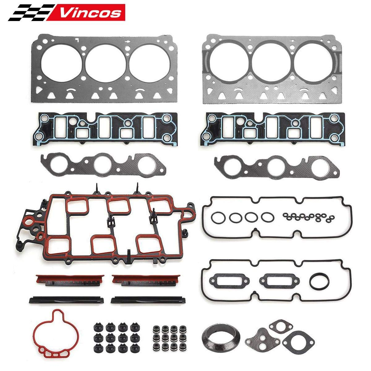 Engine Valve Cover Gasket Set for Chevrolet Monte Carlo 1998-2005 3.8L V6 OHV