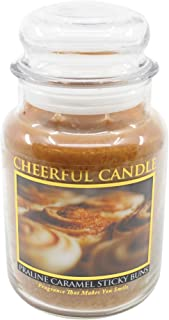 product image for A Cheerful Giver Praline Caramel Sticky Jar Candle, 24-Ounce